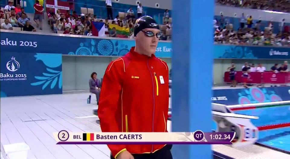 Basten Caerts mag naarRio