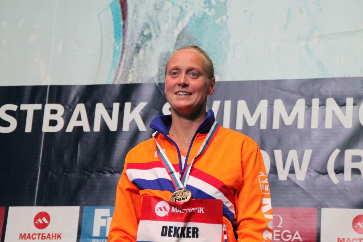 Ondanks vaststelling baarmoederhalskanker blijft Inge Dekkerpositief